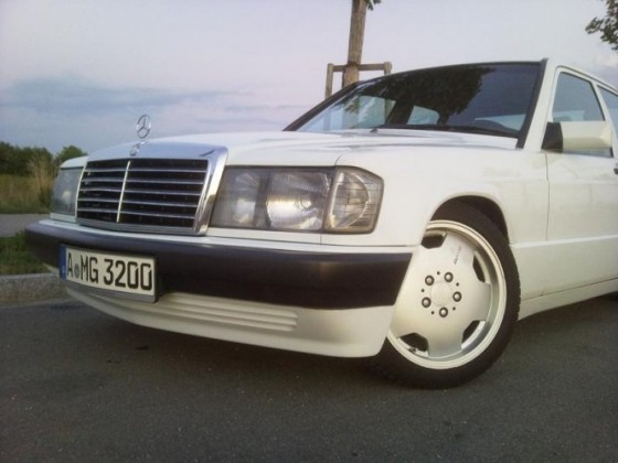Alltagsauto 190D 2.0 Winteroptik ;-)