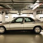 Mein 87´er Baby Benz 2.3E auf 7,5x16 ET51  15 Loch