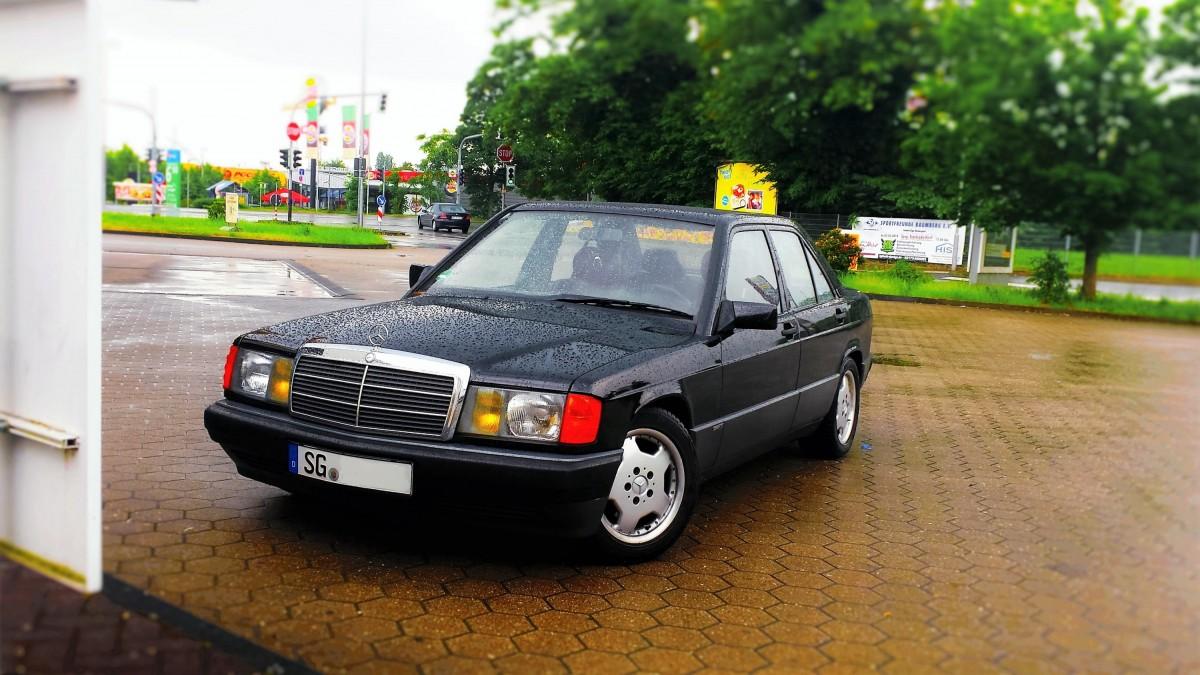 Blackie im Regen..Monheim