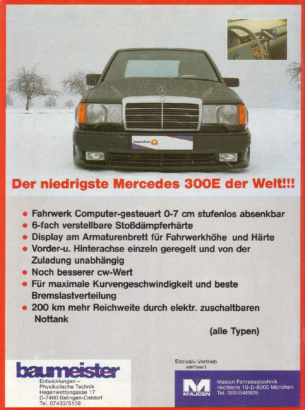 Mercedes zusatztank