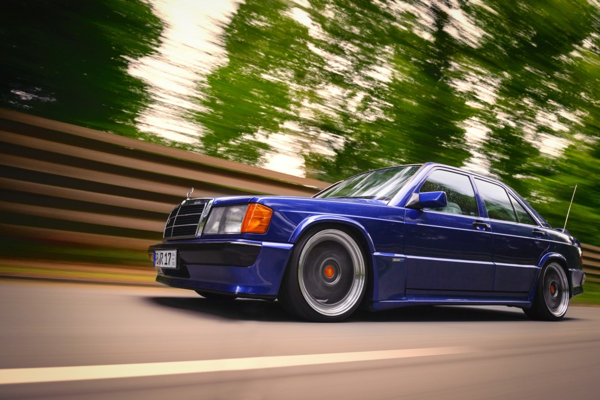 190E 3.0 Avantgarde Azzurro 2
