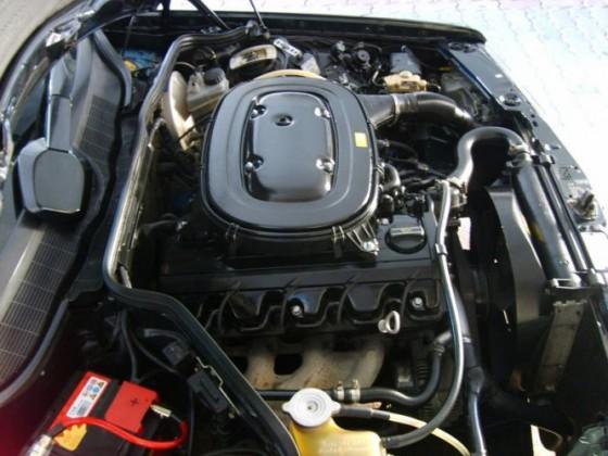 Selbst nach 300.00 Kilometer muss der Motor sauber sein