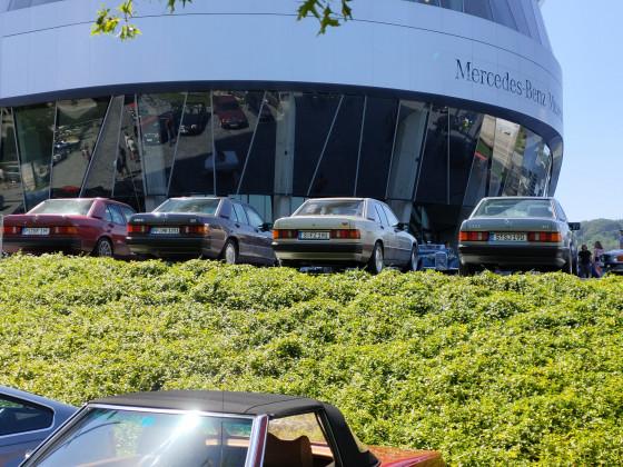 Classics & Coffee am Mercedes Museum Stuttgart