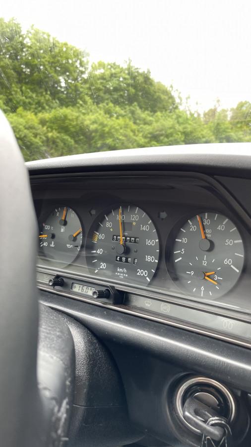 am Wochenende auf der Autobahn endlich eingefahren