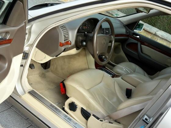 W140 S320 Innenraum