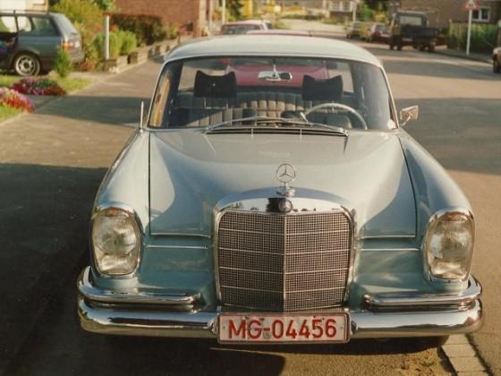 Meine Flosse,mein ältester Benz
